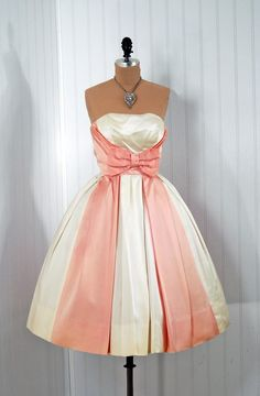 Rehearsal Dinner Dress. Reminds me of the Cinderella dress that the step sisters tear up.