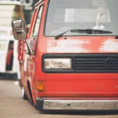 : How low can ya go #slamitdragitdriveit #stance #vw