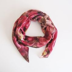 Pink scarf women scarves  fashion scarf ssquare scarf by selenayy