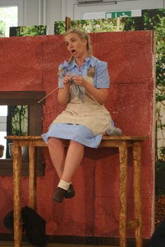 Kostüm Gretel, Oper Hänsel und Gretel