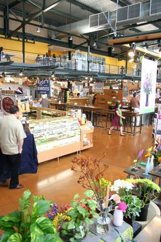 Get fresh flowers and handmade candy from the Milwaukee Public Market!