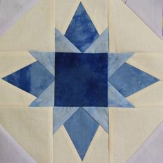 The January block for the Column-Along Quilt will be a Twinkle Star. This is a slightly larger version of a star block that I have d...