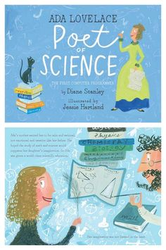 Empowering books for girls: Ada Lovelace, Poet of Science by Diane Stanley and illustrated by Jessie Hartland