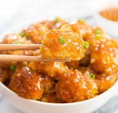 Honey Garlic Baked Cauliflower   Kirbie's Cravings   A San Diego food & travel blog