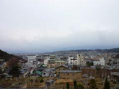 Dalla Finestra di Camera,Hotel「Zan-eikaku」Asama-Onsen,Matsumoto、Nagano