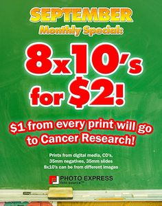 Photo Express   Monthly Special Sept 2014 Photography Services, Digital, Prints, Image