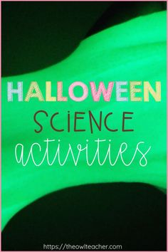 Are you looking for something to do in your elementary classroom this Halloween? Check out these engaging Halloween science activities that are easy and fun to complete!