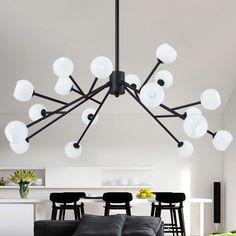 https://www.aliexpress.com/item/Living-Room-Dining-Room-luminaire-suspendu-Modern-LED-Chandelier-Lights-G4-Black-White-Glass-Hanging/32705259698.html?spm=2114.01010208.3.245.C9Y88u   $212