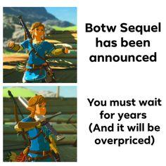 Quite late but i feel like that. Legend Of Zelda Memes, Legend Of Zelda Breath, Bad Memes, Funny Memes, Zelda Drawing, Old Pokemon, Link Zelda, Breath Of The Wild, Gaming Memes