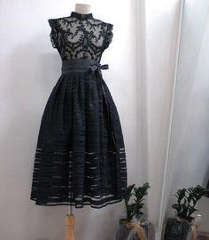 korea traditional clothes, fusion hanbok, lacy dress, 블랙스완 허리치마
