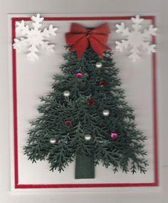 Pine Branch Christmas Tree
