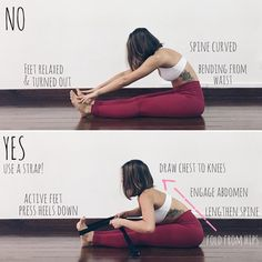 Trying something new! I've seen many students doing what is shown in the picture above and decided… Yoga Training, Gymnastics Workout, Yoga For Flexibility, Iyengar Yoga, Yoga Poses For Beginners, Yoga Routine, Yoga Sequences, Yoga Challenge, Best Yoga