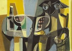 Drinking Figures, 1952 - Marcel Mouly (1918–2008)