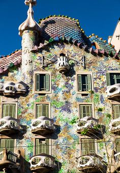 Architect Antoni Gaudi Casa Batllo Rene Triay Photography