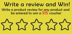 Want to win free voucher from Shahi India?  Review our product on our website and get a chance to win $15 voucher