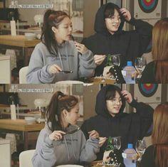 """ im so inloved with mah parent's 💞💛 '' Jungkook Fanart, Foto Jungkook, Kpop Couples, Cute Couples, Just Friends, Girls Best Friend, South Korean Girls, Korean Girl Groups, Bts Girl"
