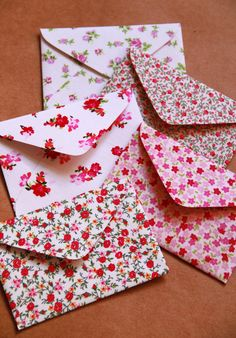 Envelopes em tecidos...lindos!!!