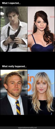 50 shades of grey casting. This too was what I expected. WHYYYY?!?!