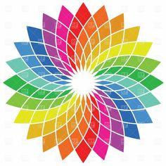 Colour flower