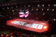 Washington Capitals (hockey). They play at the Verizon Center in Chinatown.