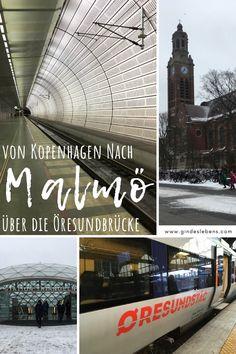 Von Kopenhagen nach Malmö über die Öresundbrücke - Tagesausflug von Dänemark nach Schweden www.gindeslebens.com #Kopenhagen #Dänemark #Malmö #Schweden #Öresund Reisen In Europa, Copenhagen, Dublin, Denmark, Travel Destinations, Places To Go, Louvre, Gin, Explore