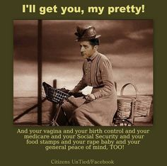 Paul Ryan: The Wicked Witch of the Midwest - this would be funny if it wasn't true....