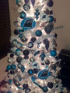 Carolina Panthers Mesh Wreath | Wreaths | Pinterest | Wreaths ...