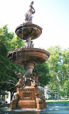 Angel Fountain - Lancaster, Ohio
