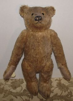 "CUTE LARGE 19"" LONG SNOUT, LONG SNOUT&ARMS MOHAIR TEDDY BEARS OF WITNEY ""OLDIE"" #TEDDYBEARSOFWITNEY"
