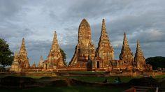 Templo Wat Chai Watanaram - Ayutthaya