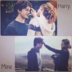 Forever. Always. Harry Potter Movie Trivia, Harry Potter Girl, Harry Potter Cast, Harry Potter Characters, Harry Potter Fandom, Harry Potter Memes, Harry Y Hermione, Hermione Granger, Harry Potter Pictures
