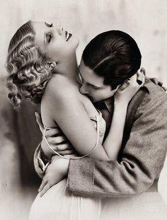 1920's kiss