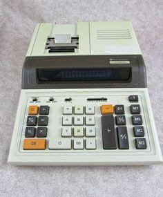 Vintage Texas Instruments TI-5219 Electronic Printing Calculator #TexasInstruments #calculator
