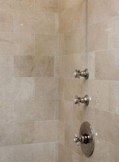 Bath Room Tiles Cream Marbles New Ideas Bath Room Tiles Cream Marbles New Ideas - Marble Bathroom Dreams Travertine Bathroom, Best Bathroom Tiles, Cream Bathroom, Wainscoting Bathroom, Bathroom Layout, Bathroom Wall Decor, Bathroom Flooring, Small Bathroom, Bathroom Ideas