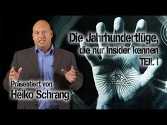 Hier Teil 1 des wahnsinnig interessanten Insiderwissens von Heiko Schrang... hier deckt er die unaufhörlichen Lügen des Mediensystems auf. Wake up!!!  Die Jahrhundertlüge, die nur Insider kennen - Teil I (Heiko Schrang)