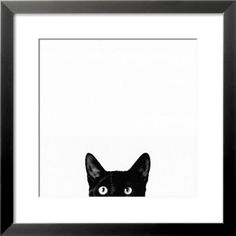I'm not a cat person, but I love this funny and quirky print. Great for guest bathroom or maybe my eclectic photo wall.