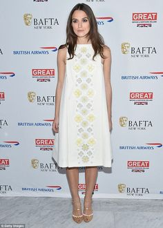 Keira Knightley at the BAFTA New York event at The Standard Highline