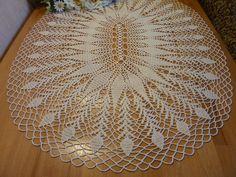 Oval tableclothcrochet tablecloth   Etsy