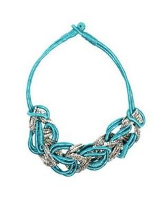 ASOS Silk Cord and Looped Statement Collar