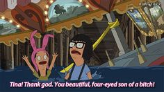 19 Reasons Beyonce And Tina Belcher Are Actually The Same Person- 2 of my heroes! Bobs Burgers Funny, Bobs Burgers Quotes, Best Tv Shows, Best Shows Ever, Favorite Tv Shows, Louis Belcher, The Simpsons Guy, Belcher Family, Tina Belcher