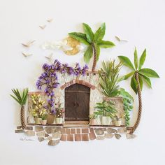 Shop our unique flower art and curated selection of handcrafted & vintage home decor from creative people around the world. Mason Jar Crafts, Mason Jar Diy, Leaf Prints, Flower Prints, Art Prints, Pressed Flower Art, Deco Floral, Diy Home Decor Projects, Leaf Art