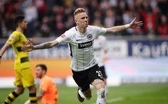 Download wallpapers Marius Wolf, 4k, Eintracht Frankfurt, footballers, FC Eintracht, soccer, Bundesliga, Eintracht