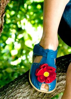 Bloom Bright Blue Shoes
