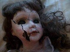 cool effect - my first reconstructed porcelain doll - TOYS, DOLLS AND PLAYTHINGS