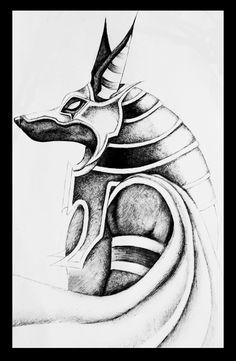 Anubis Design by dark-bastet on DeviantArt
