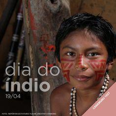 A Tintas Iquine homenageia as cores que representam a origem do povo brasileiro. Um povo que leva a cor vermelha da força e do amor na pele. #DiadoIndio #Vermelho
