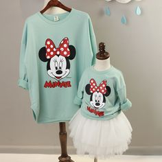 Cheap family matching, Buy Quality family matching clothes directly from China matching clothes Suppliers: Family Matching Clothes T-shirts Minnie Christmas Pajamas Mother and Daughter Clothes Outfits Mommy and me Clothes Twin Outfits, Mommy And Me Outfits, Matching Family Outfits, Disney Outfits, Girl Outfits, Matching Clothes, Disney Shirts, Disney Clothes, Teen Girl Fashion