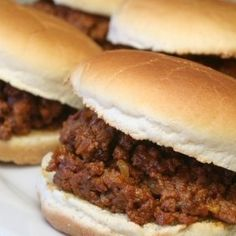 Making Sloppy Joes For A Large Group
