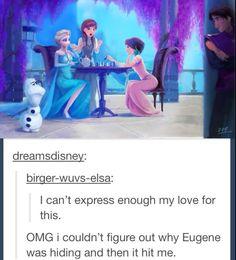 Disney funny - Queen Elsa on Frozen Disney, Disney Pixar, Film Disney, Disney Jokes, Funny Disney Memes, Disney And Dreamworks, Disney Animation, Disney Magic, Disney Facts