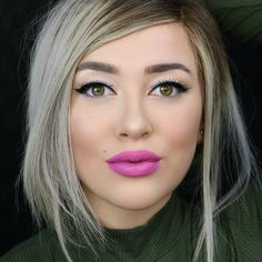 @itssteephh here! I'm taking over Sephora Collection's Instagram channel for the week to show you my favorite uncomplicated looks. First, simple eyes & a bold lip never hurt nobody. This is probably one of my fav combos! This beautiful lip color is Sephora Collection Cream Lip Stain in African Violet & I used Colorful Shimmer Shadow called Early Frost. Check back tomorrow for Day 2 of my Insta takeover!  #BeautyUncomplicated #SephoraCollection #SCtakeover